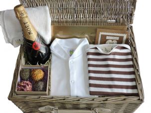 Row Your Boat Luxury Baby Gift Hamper by Mulberry Organics